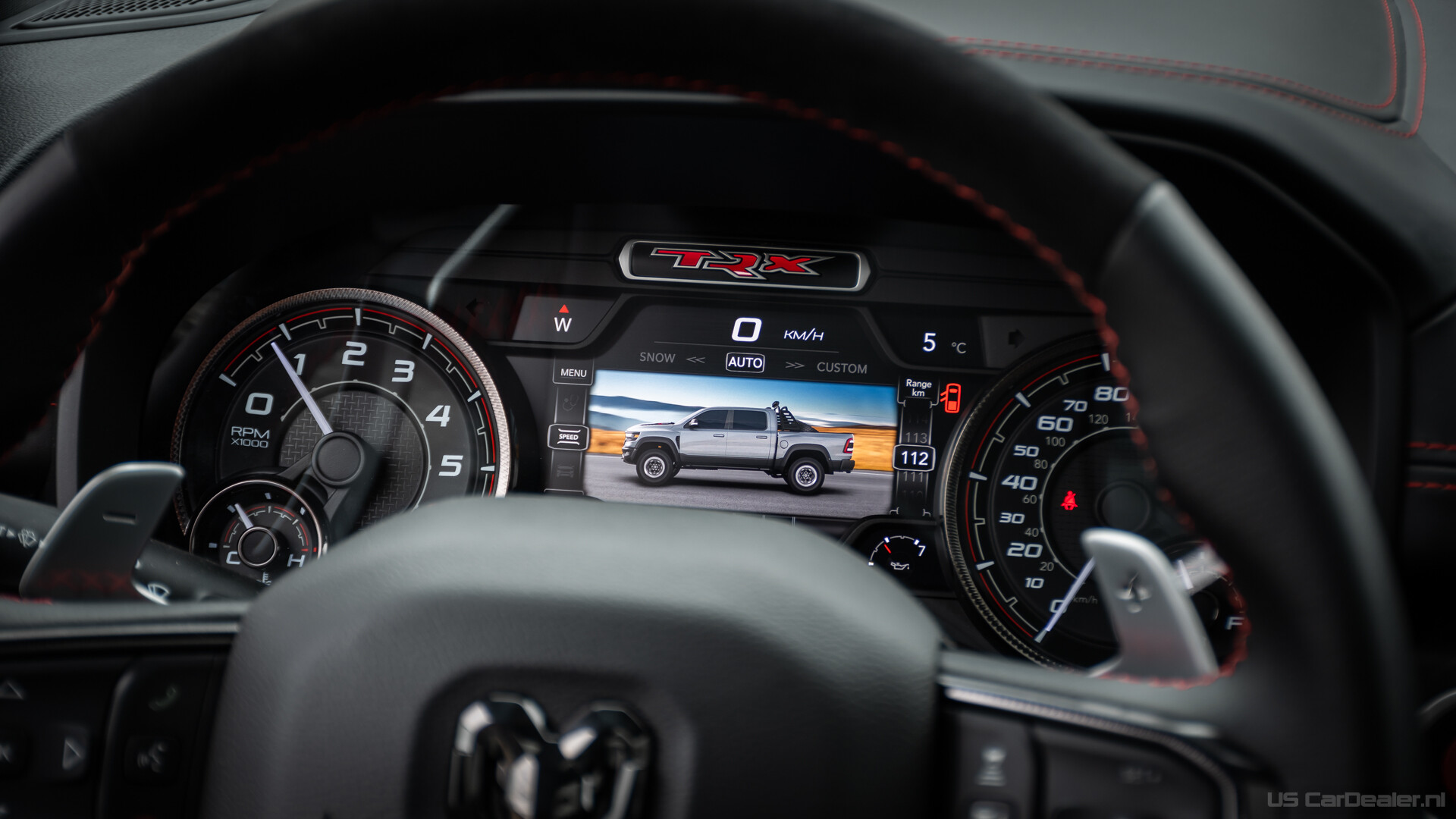 Driving mode selector